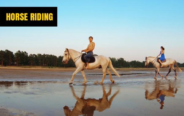 Practicar la equitación