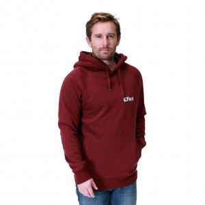 Feral Classic Hoody - Claret Red