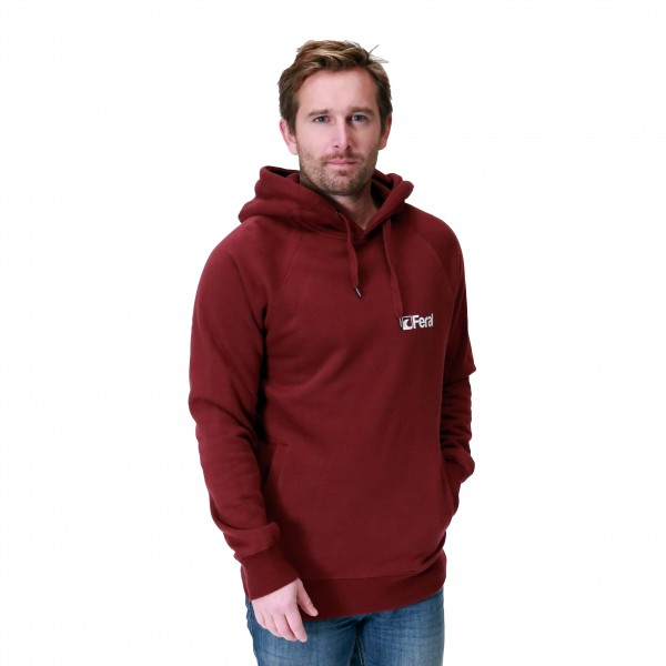 Feral Classic Hoody – Claret Red