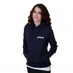 Feral Classic Hoody - Navy - Womens