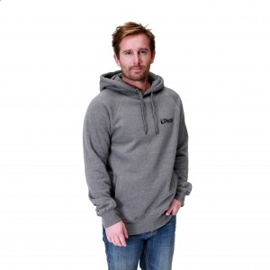 Feral Classic Noir Hoody - Dark Heather