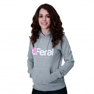 Feral Glimmer Hoody - Light Heather - Womens