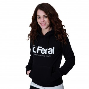 Feral Original Hoody - Black - Womens