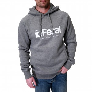 Feral Original Hoody - Dark Heather