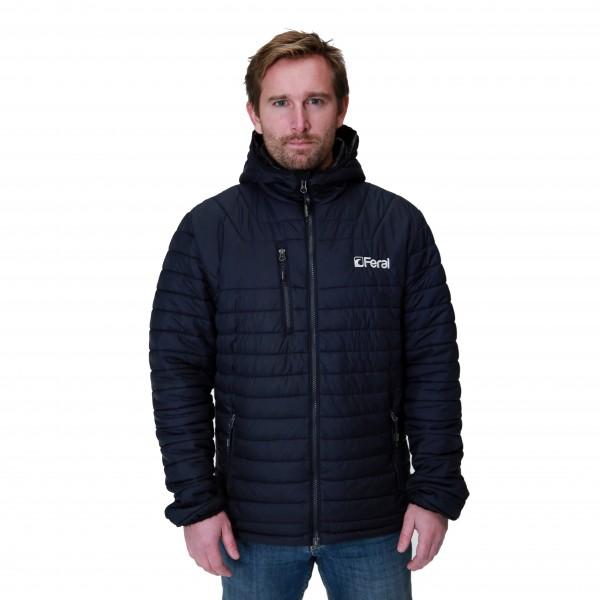 Feral Puff Hoody Jacket – Navy